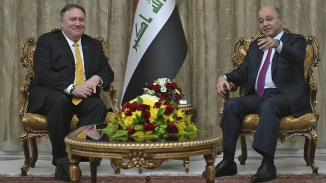 Pompeo, in Iraq, Seeks to Reassure Kurds on Syria Withdrawal