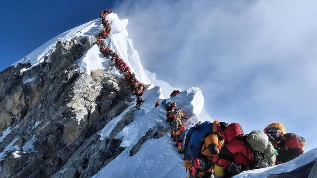 American Scientist Sounds Warning on Future Everest Dangers