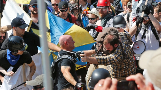 3 Sentenced for Violence at Virginia White Nationalist Rally