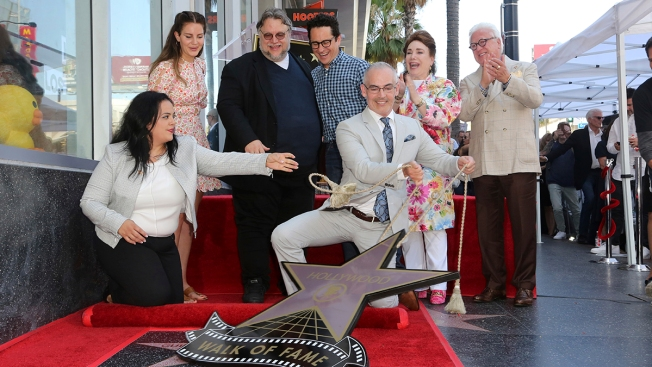 Filmmaker Guillermo del Toro Receives Walk of Fame Star
