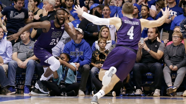 No. 1 Duke Falls to Stephen F. Austin in OT Stunner