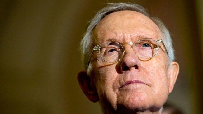 Senate Democratic Leader Harry Reid endorses Clinton