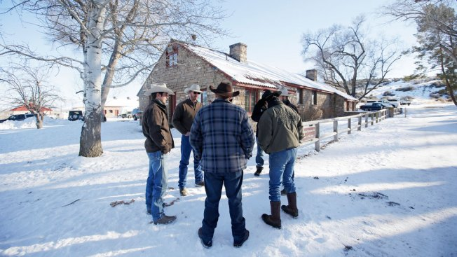 Ammon Bundy Tells Supporters to 'Go Home and Hug Your Families'