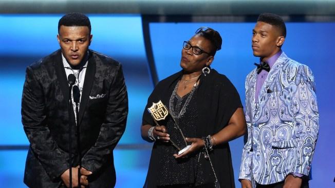 MVP Newton, Watt, Rivera, Berry Big Winners of NFL Awards