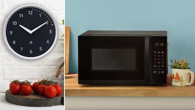 Microwave, Clock Among 15 New Amazon Smart Products