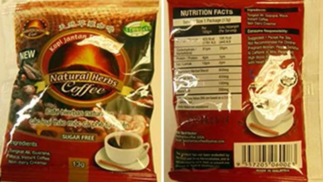 Texas Coffee Recalled for Viagra-Like Ingredient