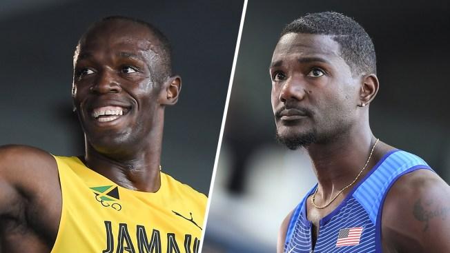 Gatlin, Bolt Won't Race in 4X100 Preliminary Relay