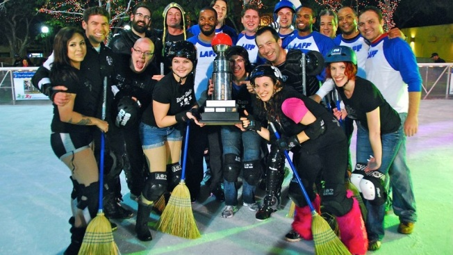 Free, Friendly, and Fierce: Broomhockey at Pershing Square