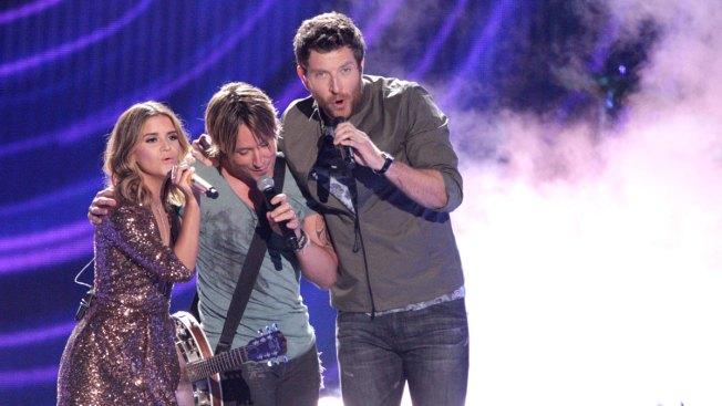 McGraw, Underwood Win Big at CMT Awards; Pharrell Performs