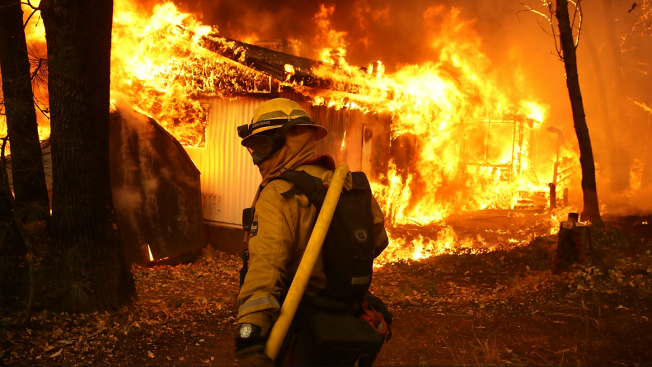 Couple Moving Out of California Donates All Household Items to Firefighters Who Lost Homes to Camp Fire
