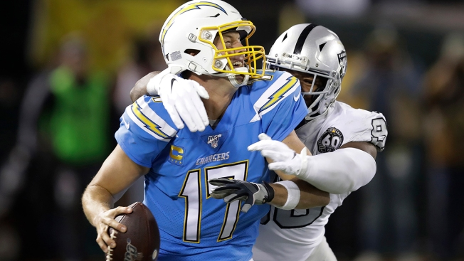 Chargers Face Tough Schedule, Long Odds After Raiders Loss