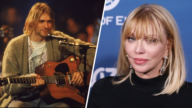 Courtney Love, Kurt Cobain's Guitar and a Really Bizarre Kidnapping Accusation