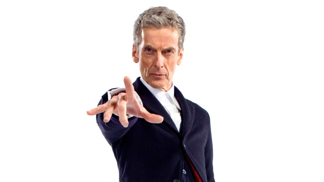 """""""Doctor Who"""" First Look: Check Out Peter Capaldi in Costume as the Doctor"""