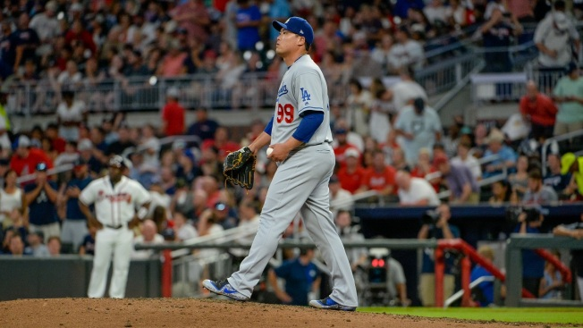 Ryu, Dodgers Fall to Braves' Long Ball, Bullpen, 4-3