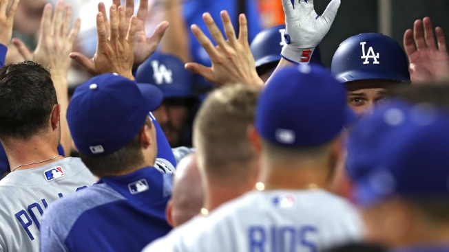 Dodgers Clinch 7th Straight NL West Title, Become 1st Playoff Team