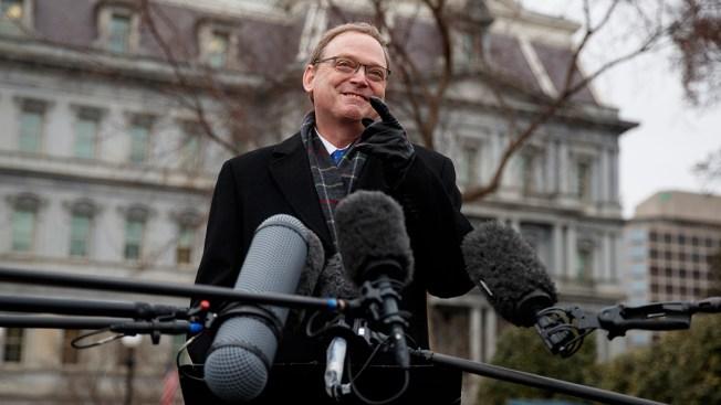 Trump Says Top White House Economist Kevin Hassett Leaving