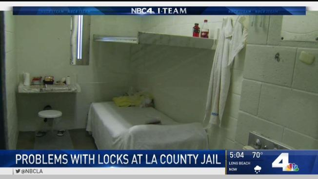 more than 1 000 locks in la jail are a security risk nbc southern