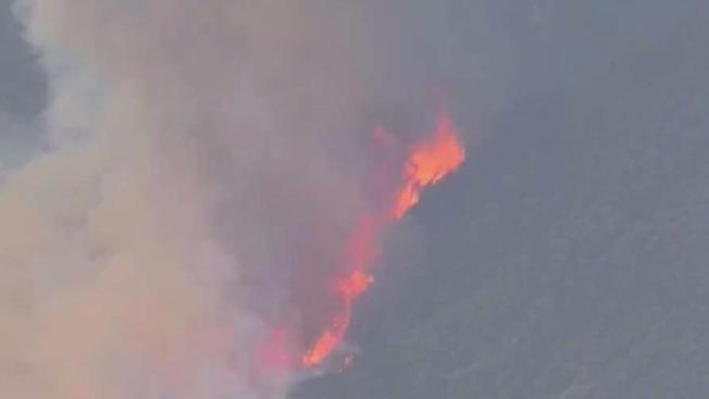 Crews Respond To Blazes In Malibu Calabasas On Fifth Day Of