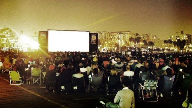October Tradition: Free Movies at Santa Monica Pier