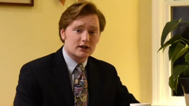 Temple Student (Jokingly) Claims Conan O'Brien is His Dad