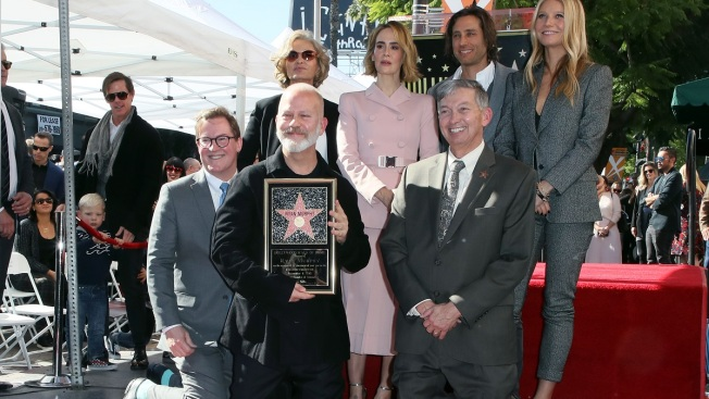 TV Producer Ryan Murphy Receives Star on Hollywood Walk of Fame