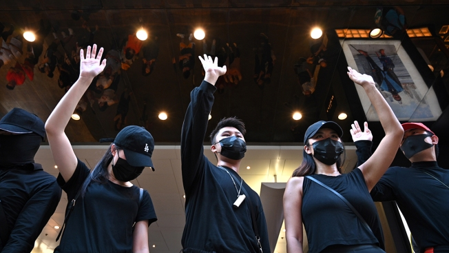 Hong Kong Lawmakers Seek to Block Mask Ban; Protests Persist