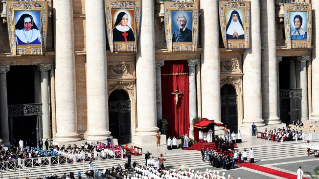 Pope Canonizes John Henry Newman, 19th-Century Theologian