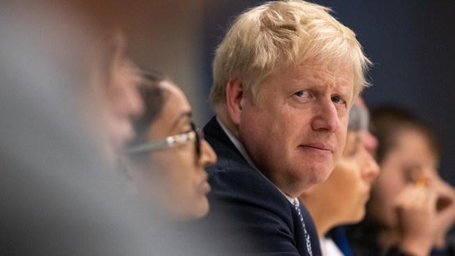 UK's Boris Johnson Apologizes for Missing Brexit Deadline