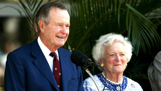 George H.W. Bush Breathing on His Own in Texas Hospital