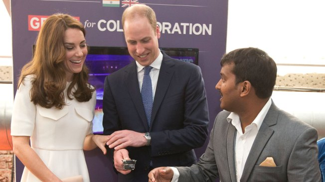 Prince William, Wife Kate Meet Young Entrepreneurs in India