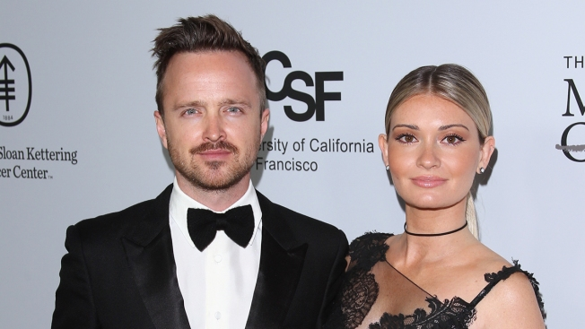 Aaron Paul's Wife Details Recovery, Infections After Giving Birth