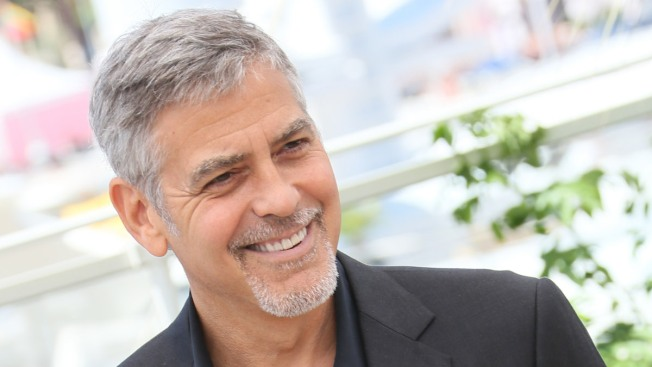 In Cannes, George Clooney Vows Donald Trump Won't Be President