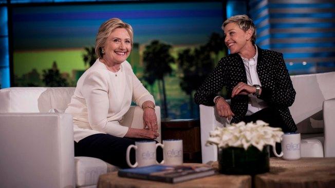 Hillary Clinton Visits 'Ellen DeGeneres Show' on Sept. 14
