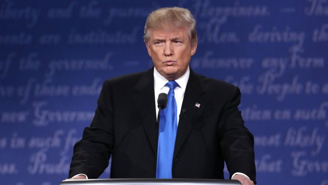 Trump Says He Didn't Mention Bill Clinton Because Chelsea in the Room