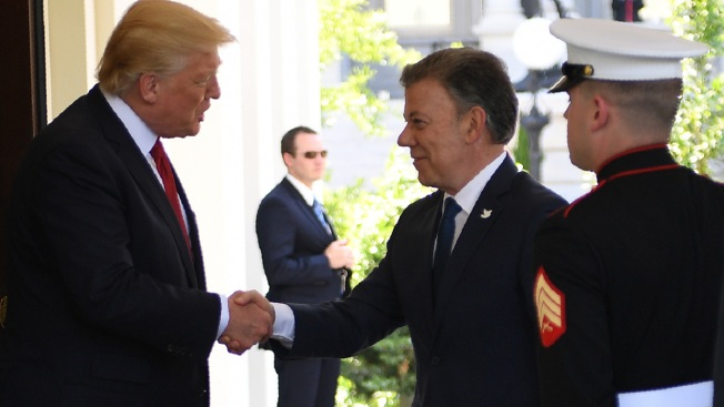 Trump Asks Colombia's Help to End Venezuela Political Crisis