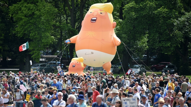 Activists Raise Money to Bring Baby Trump Balloon to South Florida