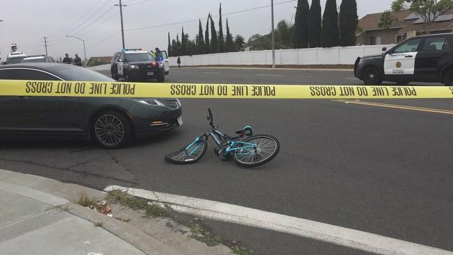Girl on Bike Struck by Car in Bay Terraces