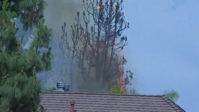 LAFD, Neighbors Help Save Granada Hills Homes After Sudden Blaze