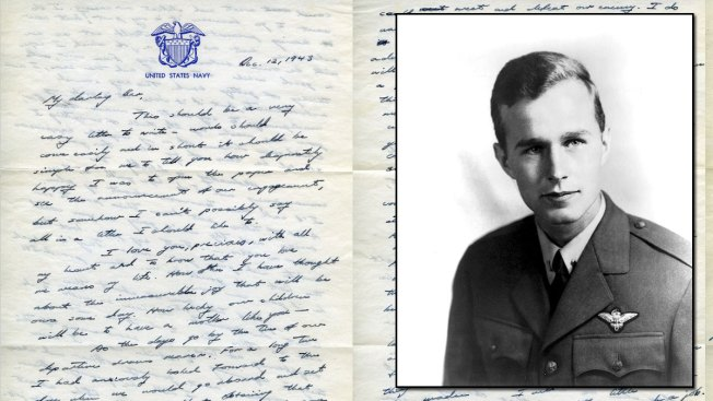 Read George H.W. Bush's 1943 Love Letter to 'My Darling Bar'