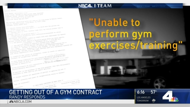 Can A Doctor S Note Get You Out Of A Gym Contract NBC Southern