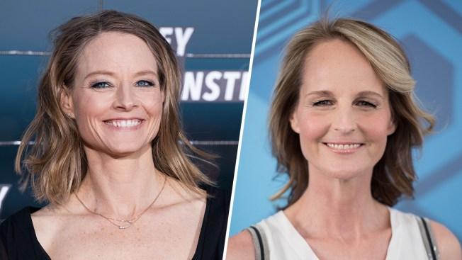 Helen Hunt Mistaken for Jodie Foster During Starbucks Run