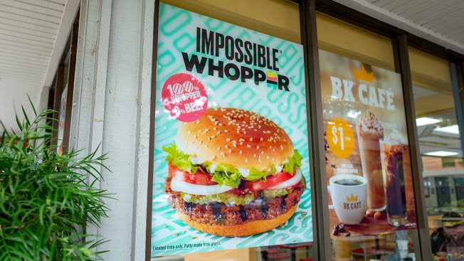 Man Sues Miami-Based Burger King Over Claims Impossible Whopper Cooked on Same Grill as Meat Products
