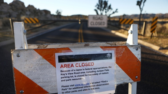 Joshua Tree National Park Closing Due to Government Shutdown Problems
