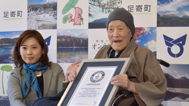 World's Oldest Man, 113, Dies at Home in Japan