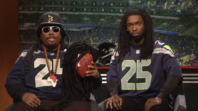 """Saturday Night Live"" Skewers Seahawks — and Their Fans"