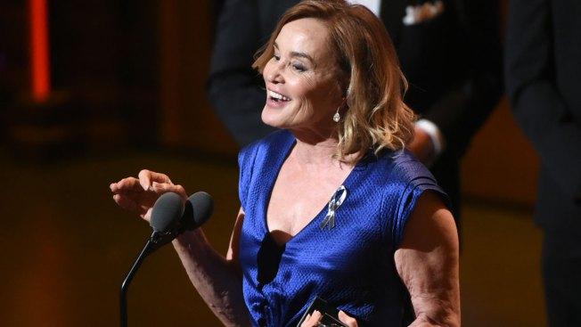 Jessica Lange Wins Her First Tony Award