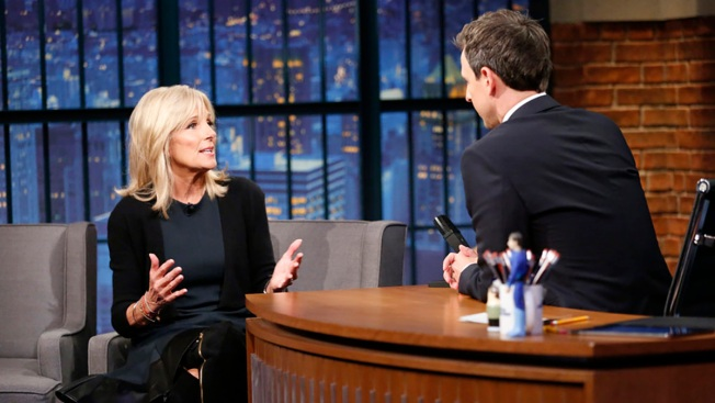 'Late Night': Dr. Jill Biden Prefers Being Called 'Captain of the Vice Squad'