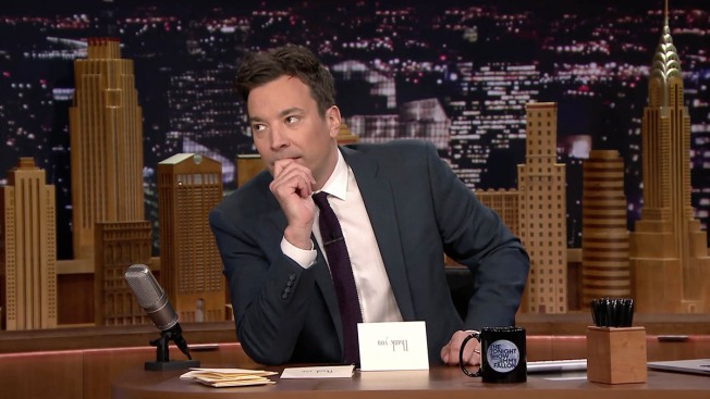 Jimmy Fallon Asks: What's The True Color of #TheDress?