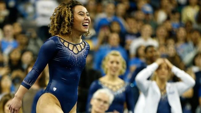 UCLA Gymnastics Sensation Katelyn Ohashi Takes Michael Jackson Out of Routine, Still Scores Perfect 10