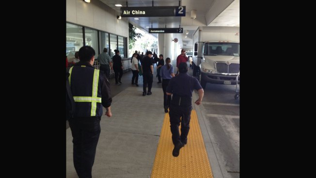 Traveler at LAX: Scene Was 'Chaotic'